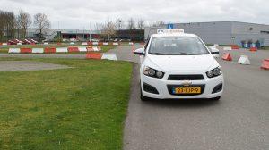 kijktechniek en sturen autorijden